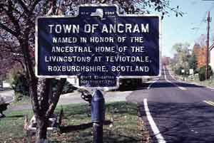 Town of Ancram Sign